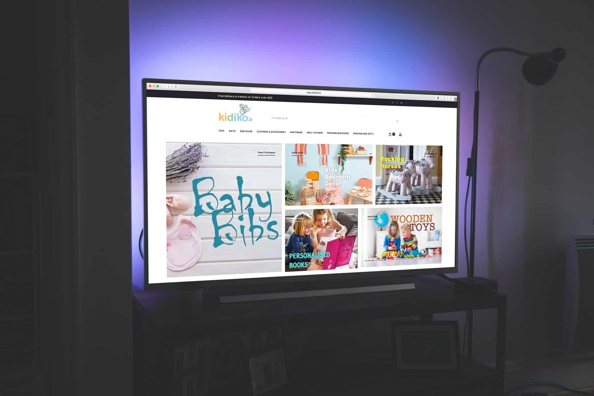 kidiko Ireland - web design galway