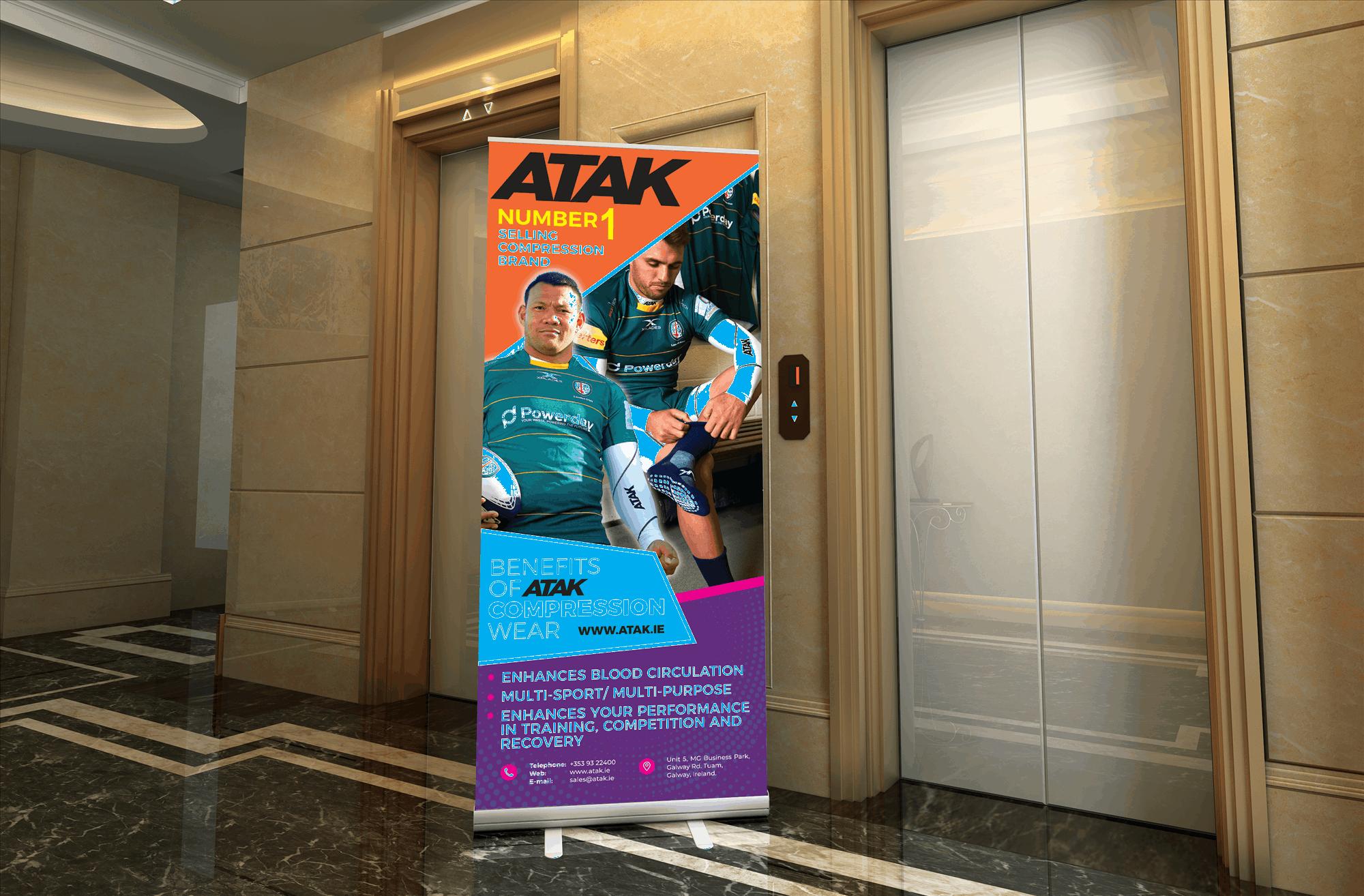 Atak - Print Design