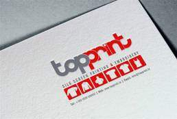 Top Print - Logo Design