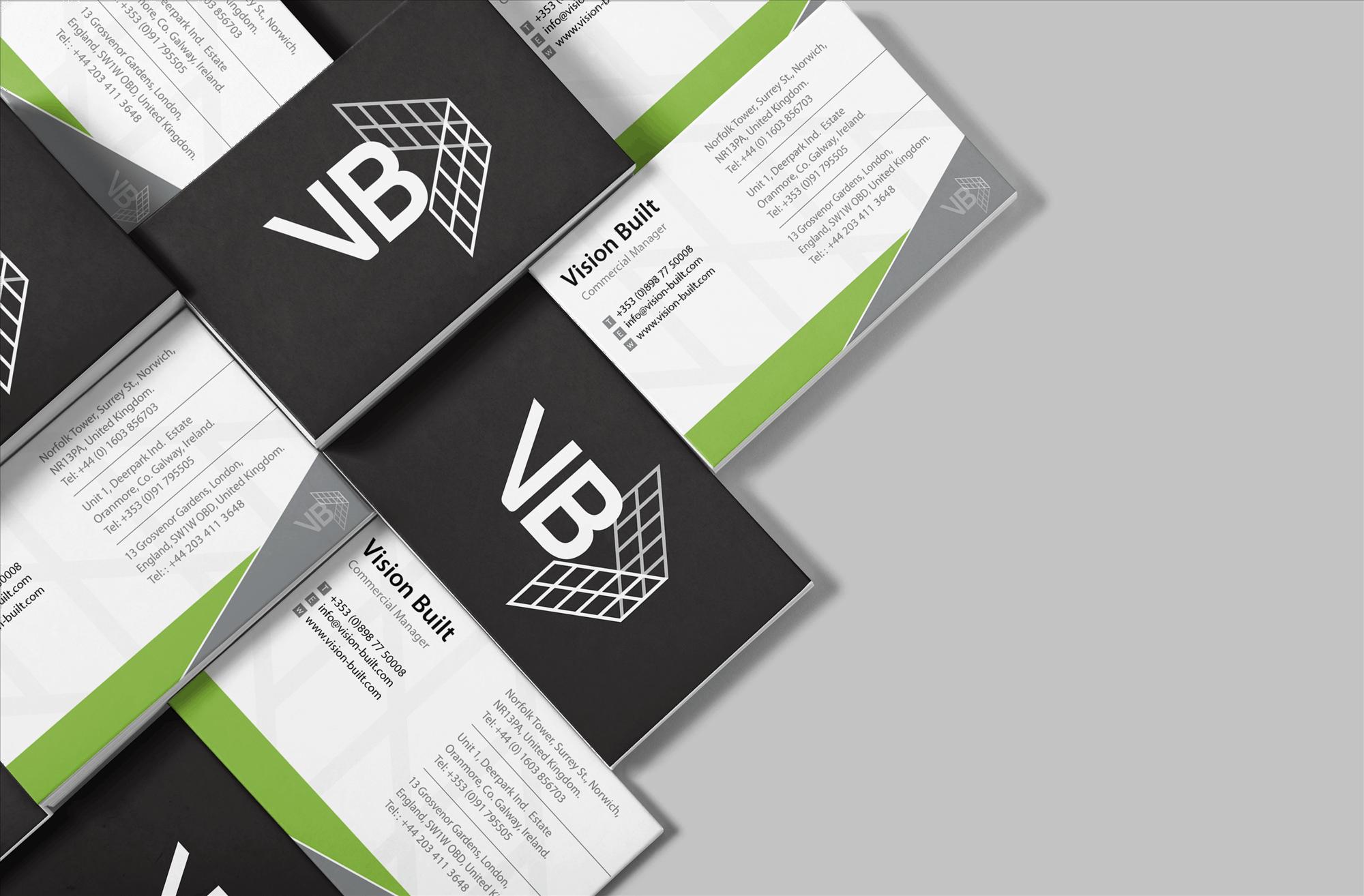 Vision Built - Print Design
