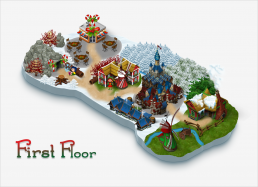 Elf Town Galway Map First Floor