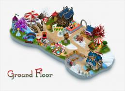 Elf Town Galway Map Ground Floor