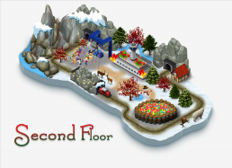 Elf Town Galway Map Second Floor