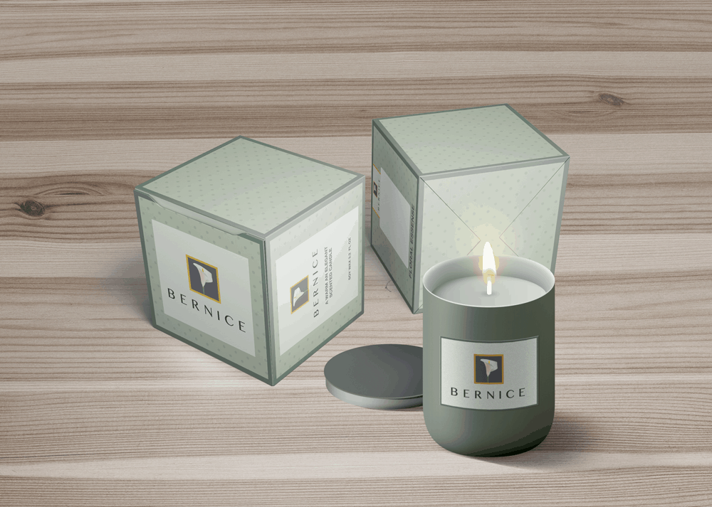 Bernice Candles - Packaging