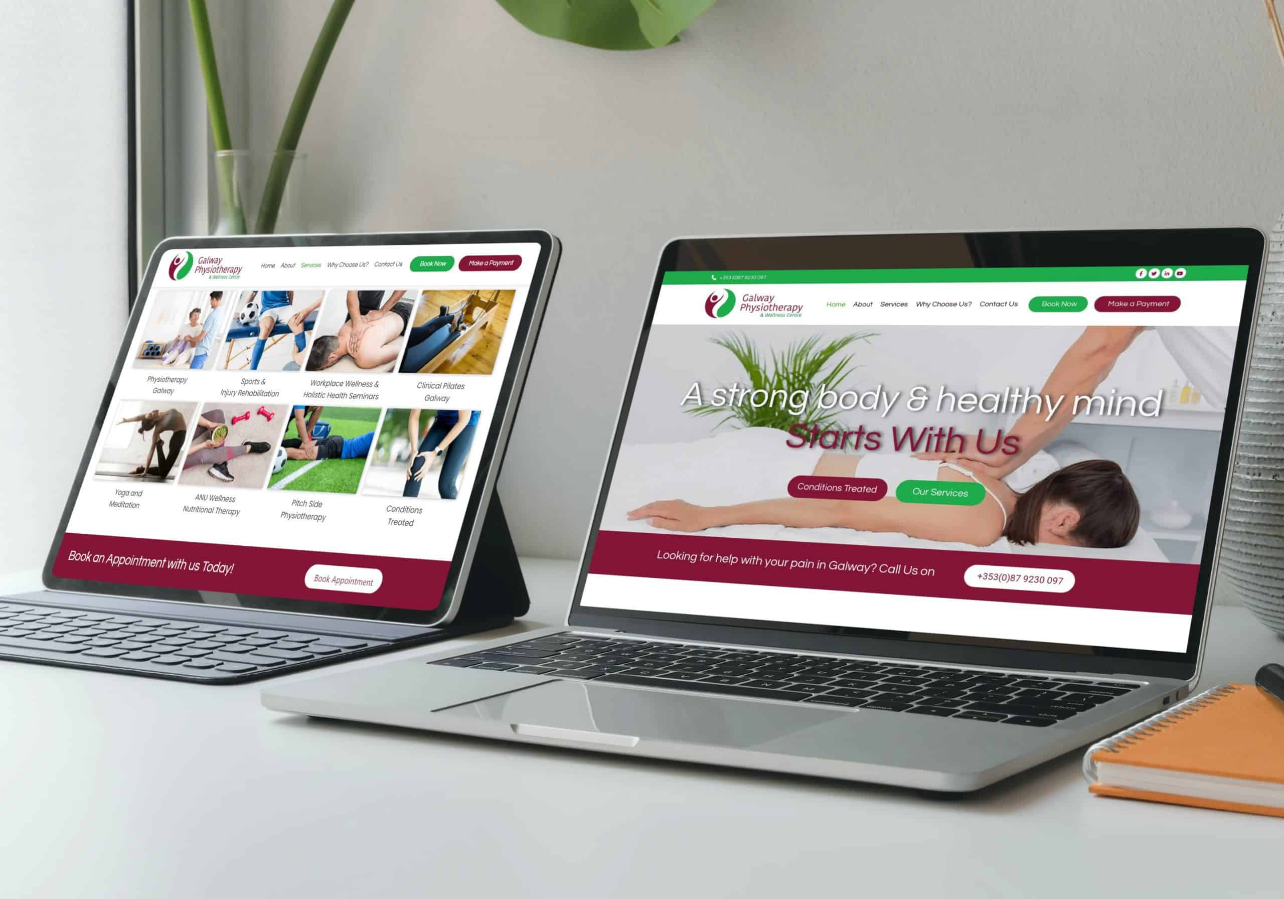 wordpress web design ireland
