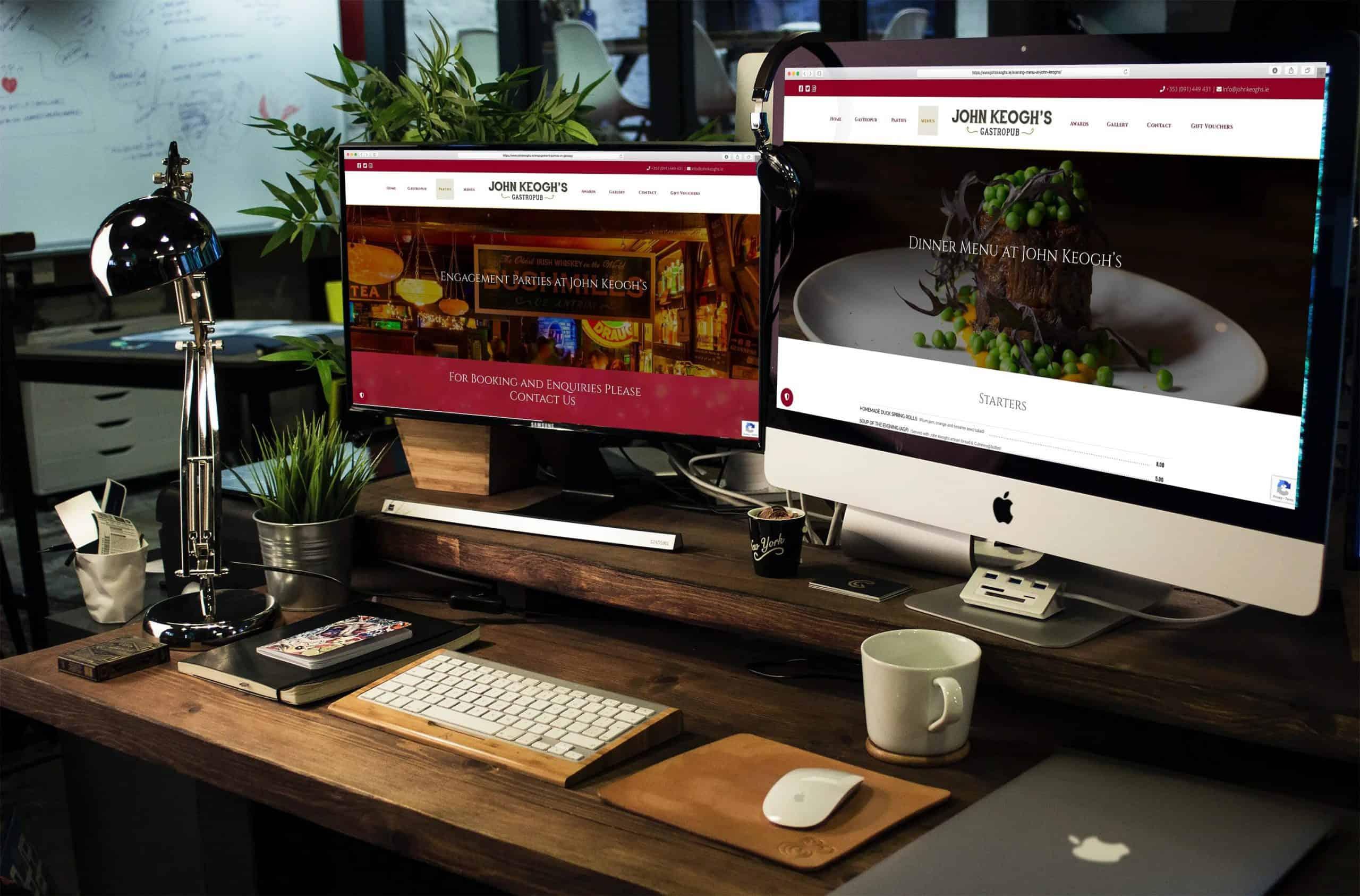 Pub web design ireland